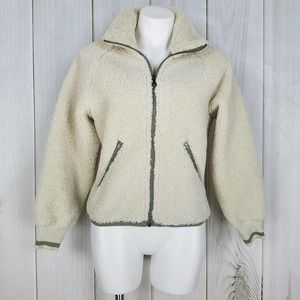 Joy Lab Faux Sherpa : Colors Linen and Olive